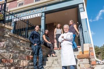 The Villaggio Ristorante family welcomes guests to their Kleinburg establishment