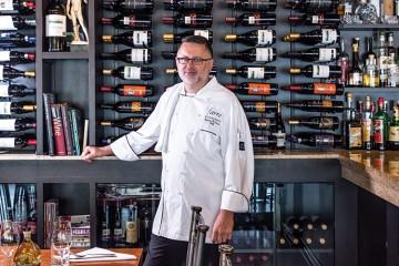 1. CHEF: Roberto DeLuca   DISH: Farro with Asparagus & Black Tiger Shrimps